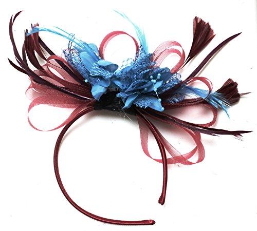 burdeos-y-aqua-tocado-diadema-net-pelo-boda-de-plumas-de-aro-royal-ascot-races