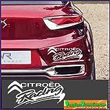 Adhesivo decorativo, diseño de Citroen Racing 30 x 15 cm. Fabricado en Francia