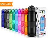 Best Thermos Bottle Caps - HoneyHolly Sports Water Bottle - 400ml / 500ml Review
