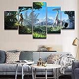 xzfddn Wall Art Poster Pintura Modular Pictures For Living Room Fotos...