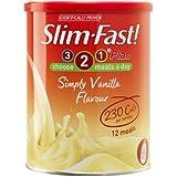 SlimFast Simply Vanilla Shake Powder 438g