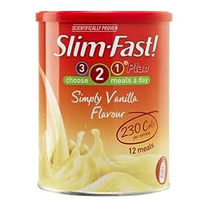 Poudre diététique Slim Fast saveur vanille 438 g