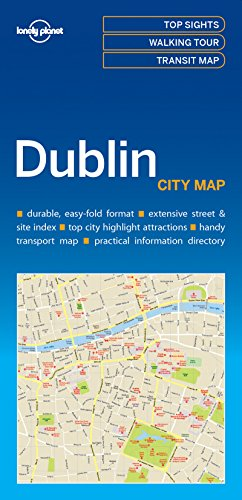 Lonely Planet Dublin City Map por Lonely Planet