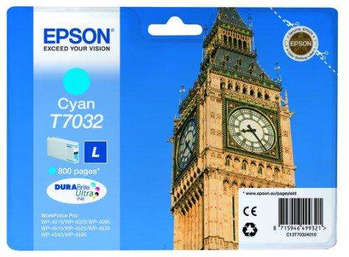 Epson T7032 Cartouche d'encre d'origine Cyan