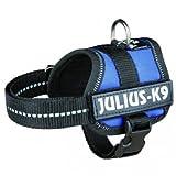 Julius Geschirr K9Klettsticker Power Baby 1/XS: 30? 40cm Blau für Hunde