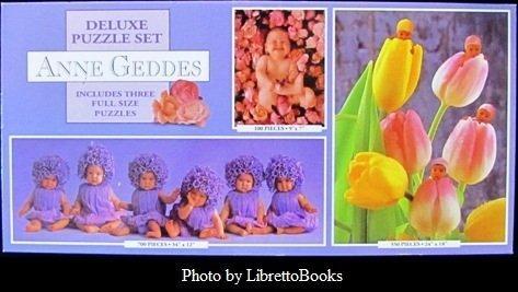 Anne Geddes Deluxe Puzzle Set: Flowers by - Geddes Flower Anne