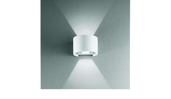 Applique doppia emissione luce illuminazione parete esterni ip