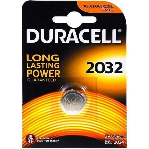 Lithium Knopfzelle Duracell CR-2032 1er Blister, Lithium, 3,0V