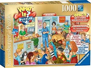 Delightful Ravensburger What If? At The Vets Jigsaw Puzzle-1000 Pieces --