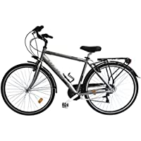 Bicicleta de ciudad City Bike 28 Welter Active Color Gris Ultralight Talla única (170 ·