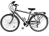 'Bicicleta de ciudad City Bike 28Welter Active Color Gris Ultralight Talla única (170–185cm)