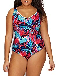 Flame Elomi Tribe Vibe Soft Cup Swimsuit 7570 Swimming Costume Moulded Cups