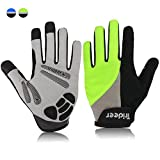 Trideer® Guantes para Ciclismo,Unisex Guantes...