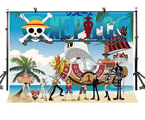schiff Kulisse Klassischer Anime Charakter Piratenkapitän Fotografie Kulisse Fotostudio Fotografie Hintergrund Requisiten Party Foto Fotografie Requisiten LYP196 ()