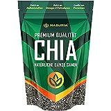 NADURIA Premium Chia Samen (Schwarz) | 1er Pack (1x500g)