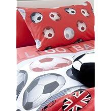Catherine Lansfield Kids BDB2 6104 WSHQ - Juego de 1 funda nórdica y 1 funda de almohada para cama infantil