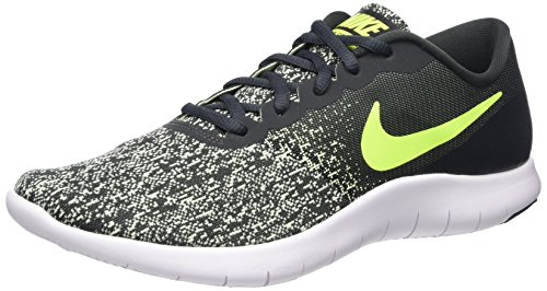 Nike Herren Flex Contact Laufschuhe, Grau (Anthracite/Volt-Barely Volt-White), 43 EU (Flex Herren Link)
