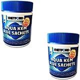 Thetford Combo 2 Pz Disgregante Aqua KEM 15+3 Sacchetti ADDITIVI per WC - Serbatoio delle ACQUE Nere