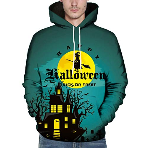 2019 heißer Hip Hop Hoodies Sweatshirts Halloween-Thema Männer Kühlen Casual Druck Herbst Plus Größe (Heißes Thema Kostüm Joker)