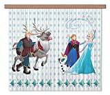 AG Design - Gardine – Vorhang – Fotogardine - Kinderzimmer Disney Frozen - 180 x 160 cm – 2 Teil - FCS XL 4370