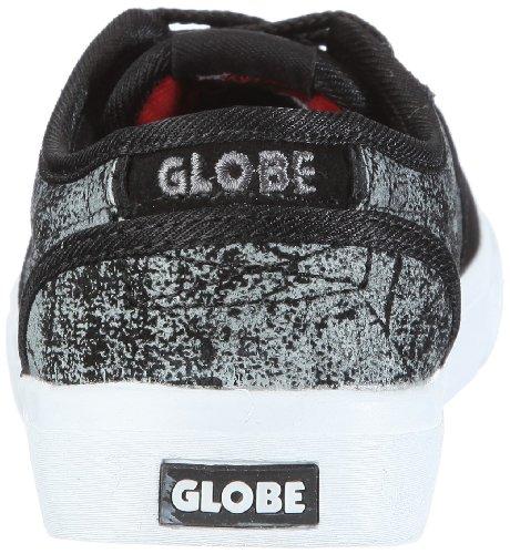 Globe Motley Kids Jungen Sportschuhe - Skateboarding Schwarz/Black Distress