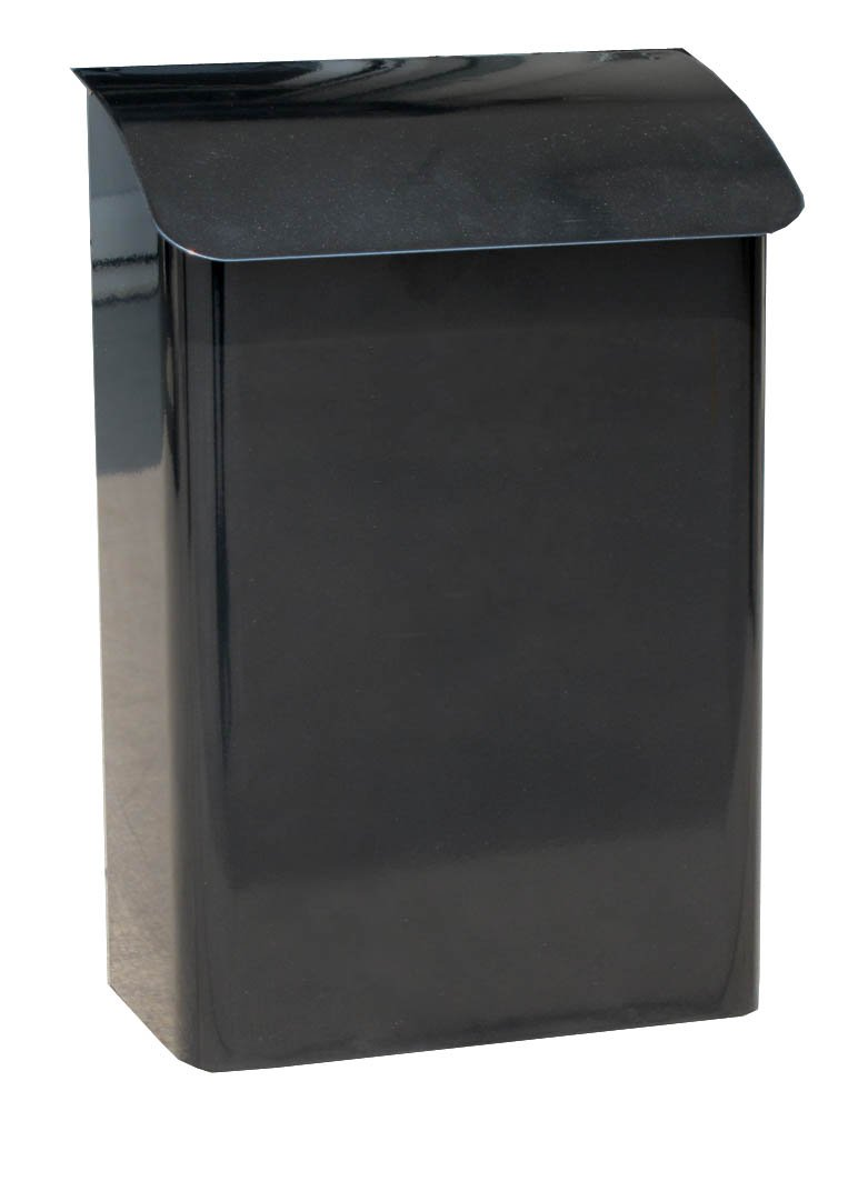 Mailbox stainless steel locking mail box letterbox postal box modern - Large Capacity Galvanised Steel Newspaper Box Postbox Mailbox Letterbox Post Box Mail Box Letter Box Amazon Co Uk Kitchen Home