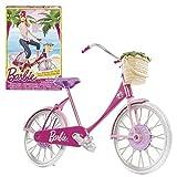 Barbie - Accessory Set - Vélo avec Panier, Baskets et Casque de Sécurité