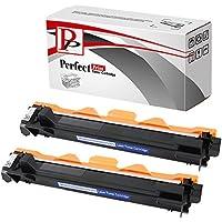 PerfectPrint Compatibile Tonico Cartuccia Sostituire Per Brother DCP-1510 1512 1610W 1612W HL-1110 1112 1210W MFC-1810 1910W TN-1050 (Nero, 2 -Pack)