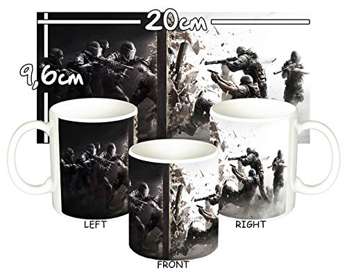 MasTazas Rainbow Six Siege Tom Clancy Tasse Mug
