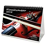 Premium Tischkalender / Kalender 2018 · DIN A5 · Klassik · Klassikzauber · Edition Seelenzauber