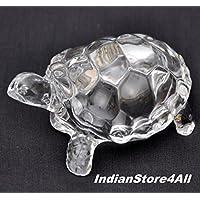 FENGSHUI indianstore4all Vastu Original CLEAR CRYSTAL Schildkröte für Peace & Wohlstand (XtraLarge) 17,8cm ca preisvergleich bei billige-tabletten.eu