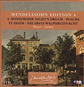 Mendelssohn Edition Vol.4 Choral Music
