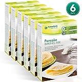 Hanneforth Glutenfreie Backmischung für Pfannkuchen - 6x400gr Pfannkuchenbackmischung - Hefe-, Weizen-,...