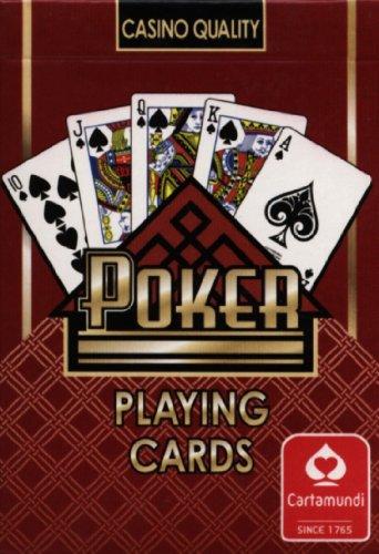 Cartamudi Poker czerwony