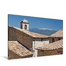 Calvendo Premium Textil-Leinwand 120 cm x 80 cm Quer, Mont Ventoux, der Heilige Berg der Provence | Wandbild, Bild auf Keilrahmen, Fertigbild auf Echter beeindruckenden Mont Ventoux Orte Orte