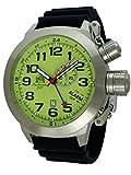 Grande sveglia tedesca e GMT orologio movimento svizzero acciaio inox T0306PU