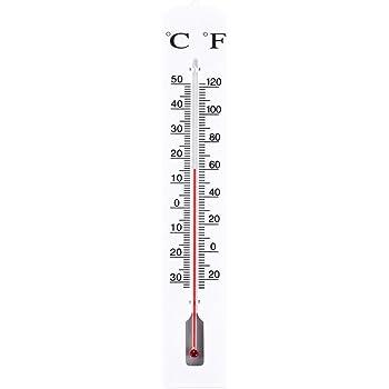 garten und balkon thermometer ca 40 x 7 cm gartenthermometer gro garten. Black Bedroom Furniture Sets. Home Design Ideas