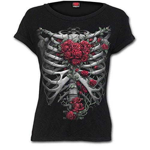 - Shirt Top Knochen Skelett Gothic ()