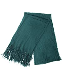 Womens/Ladies Supersoft Brushed Winter Scarf With Fringe