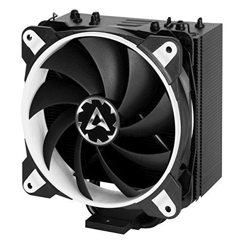 ARCTIC Freezer 33 eSports ONE - Tower CPU Luftkühler mit 120 mm PWM Prozessorlüfter für Intel und AMD Sockel - für CPUs bis 200 Watt TDP - Leiser und Effizienter Cooler (Weiss) (Weiß Cpu)