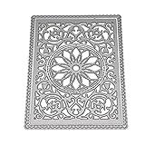 Kimyu Geometrische Blume Stanzformen Schablone Für DIY Scrapbooking Präge Album Karte