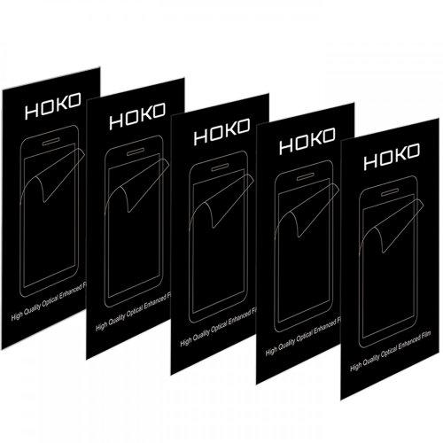HOKO® Screen Protector for Desire 700 dual sim HD Clear Edge To Edge Full Screen Guard for HTC Desire 700 dual sim - Pack of 5