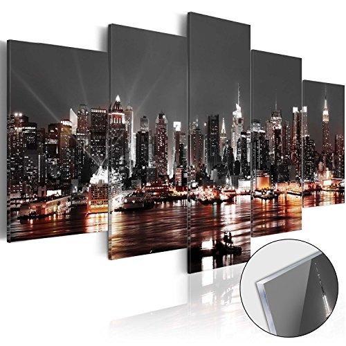 Novitá! Moderno Quadro su acrilico vetro 200x100 cm - 5 Parti - 2 formati da scegliere - Quadro - TOP - Stampa in qualita fotografica d-A-0022-k-p 200x100 cm