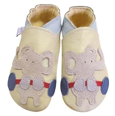 Daisy Roots , Chaussures souple pour bébé (garçon)