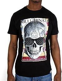 Tshirt Monsterpiece Killuminati USA Noir
