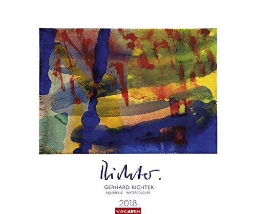Gerhard Richter - Aquarelle - Kalender 2018