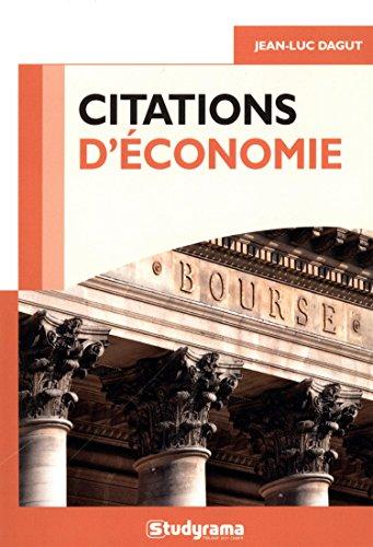 Citations conomie