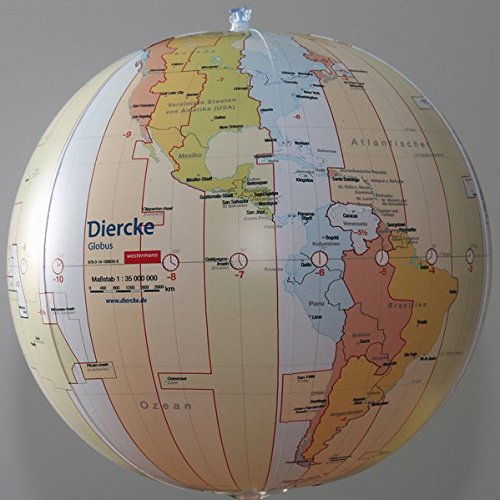 Diercke Weltatlas: Diercke: Wasserball Zeitzonen