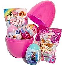 Las niñas Mega gran sorpresa huevo, relleno con magiki sirenas, Frozen & My Little Pony