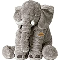INDRESSME 24In Elephant Stuffed Soft Toys Large Elephant Plush Elephant Gifts for Children